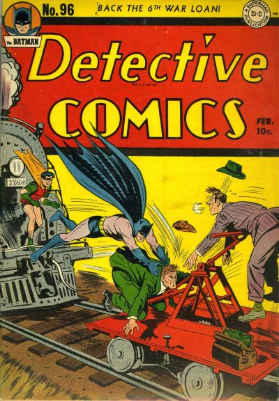 Cover for Detective Comics (DC, 1937 series) #96