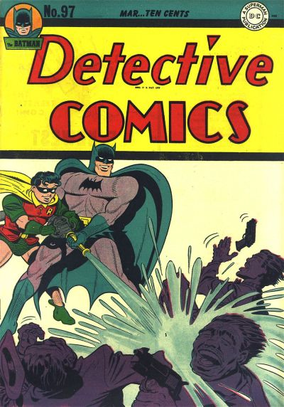 Cover for Detective Comics (DC, 1937 series) #97