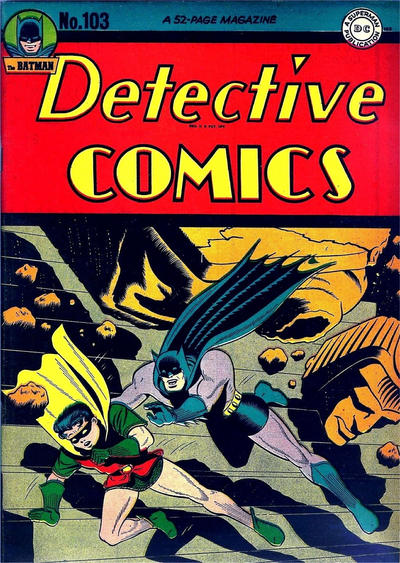 Cover for Detective Comics (DC, 1937 series) #103