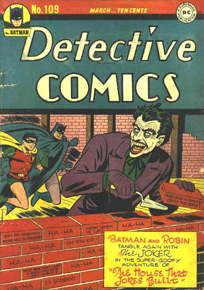 Cover for Detective Comics (DC, 1937 series) #109