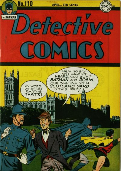 Cover for Detective Comics (DC, 1937 series) #110