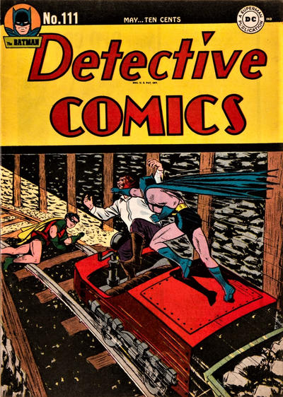 Cover for Detective Comics (DC, 1937 series) #111