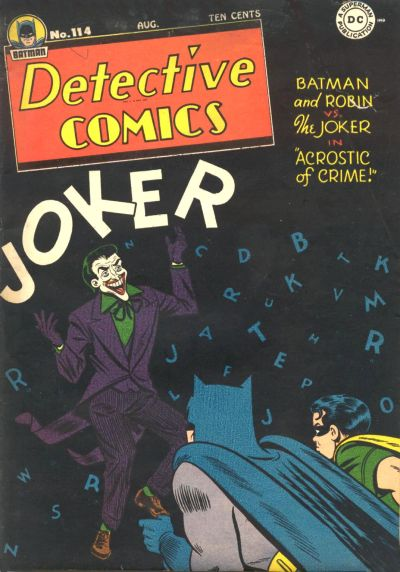 Cover for Detective Comics (DC, 1937 series) #114