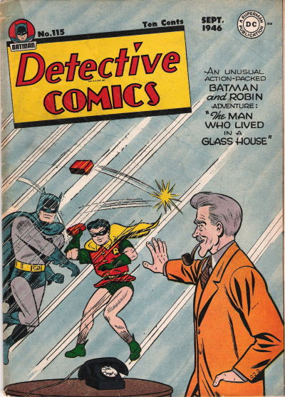 Cover for Detective Comics (DC, 1937 series) #115