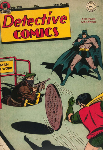 Cover for Detective Comics (DC, 1937 series) #123