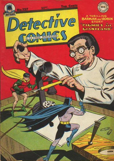 Cover for Detective Comics (DC, 1937 series) #127