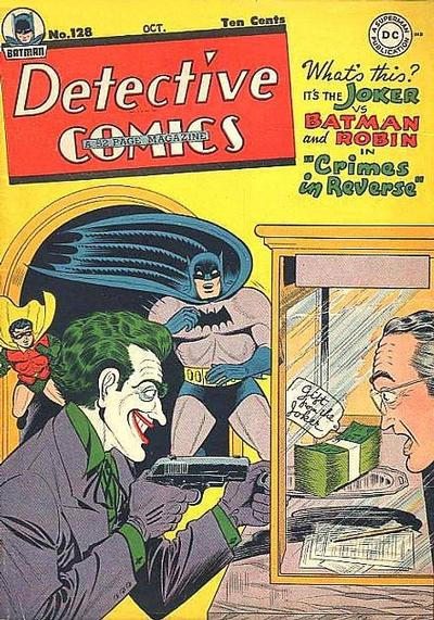 Cover for Detective Comics (DC, 1937 series) #128