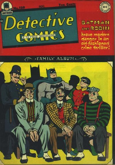 Cover for Detective Comics (DC, 1937 series) #129