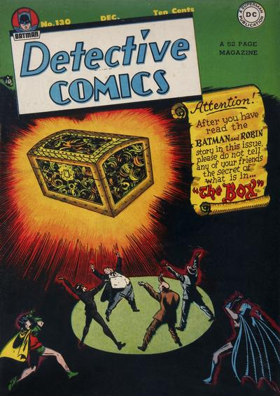 Cover for Detective Comics (DC, 1937 series) #130