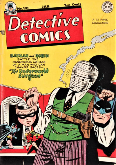 Cover for Detective Comics (DC, 1937 series) #131