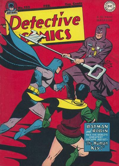 Cover for Detective Comics (DC, 1937 series) #132