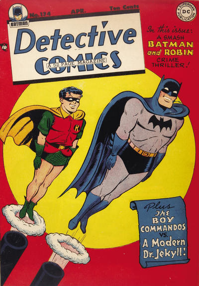 Cover for Detective Comics (DC, 1937 series) #134