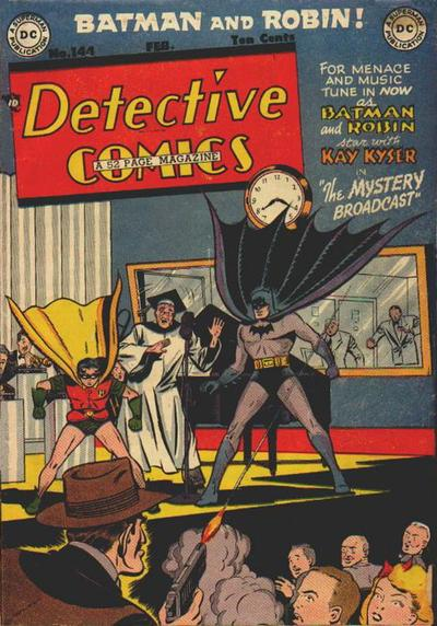 Cover for Detective Comics (DC, 1937 series) #144
