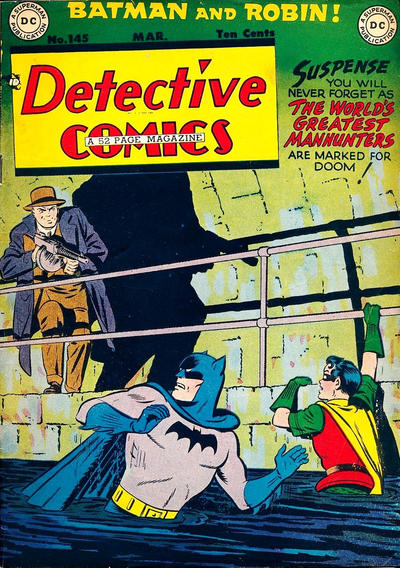 Cover for Detective Comics (DC, 1937 series) #145