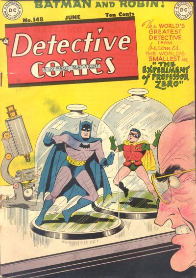 Cover for Detective Comics (DC, 1937 series) #148