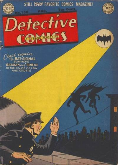 Cover for Detective Comics (DC, 1937 series) #150