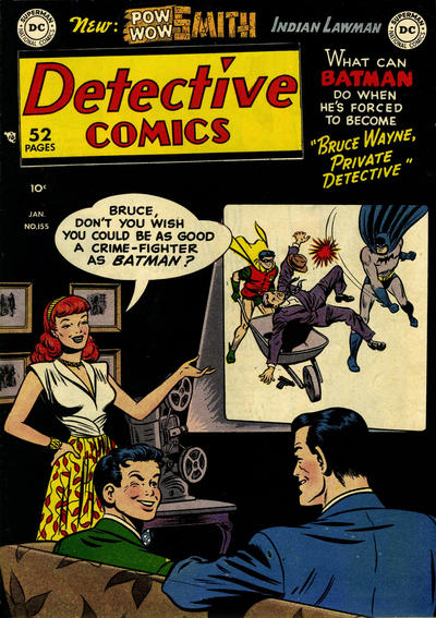 Cover for Detective Comics (DC, 1937 series) #155