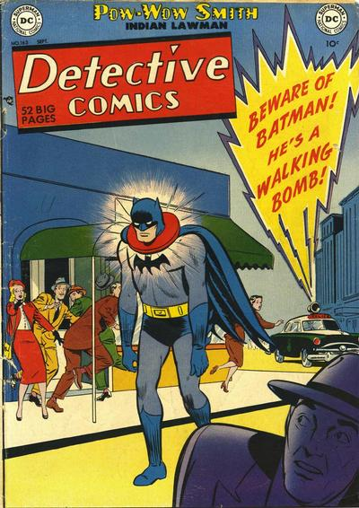 Cover for Detective Comics (DC, 1937 series) #163