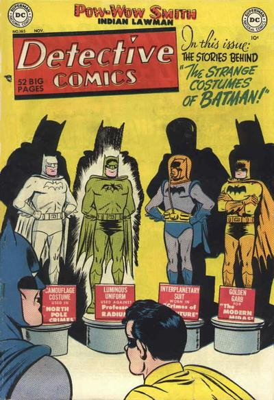 Cover for Detective Comics (DC, 1937 series) #165