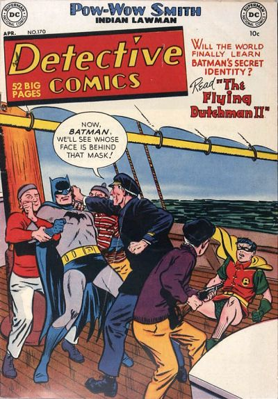 Cover for Detective Comics (DC, 1937 series) #170