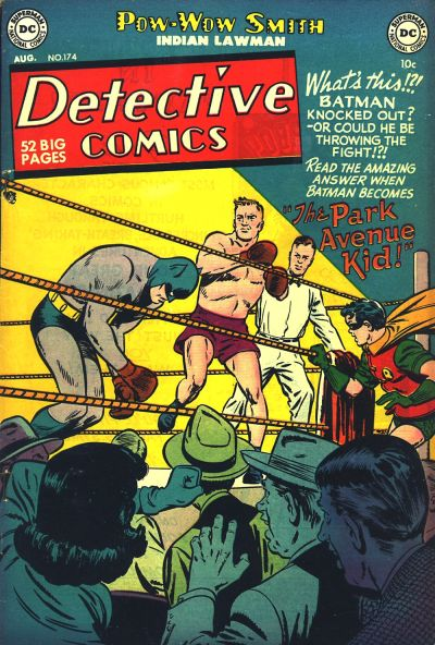 Cover for Detective Comics (DC, 1937 series) #174