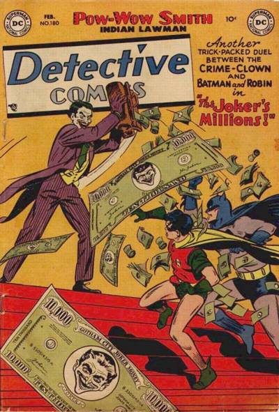 Cover for Detective Comics (DC, 1937 series) #180