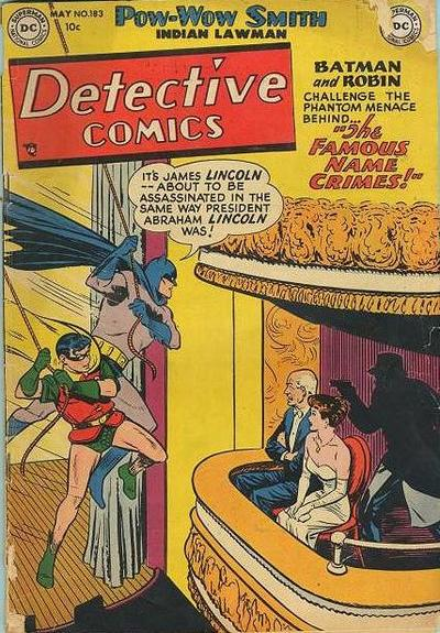 Cover for Detective Comics (DC, 1937 series) #183