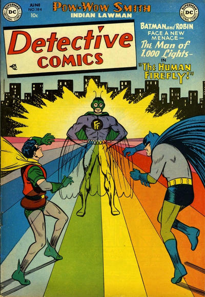 Cover for Detective Comics (DC, 1937 series) #184