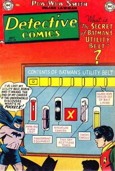 Cover for Detective Comics (DC, 1937 series) #185