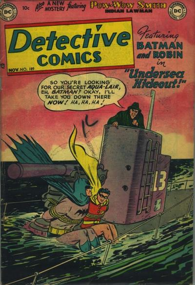 Cover for Detective Comics (DC, 1937 series) #189