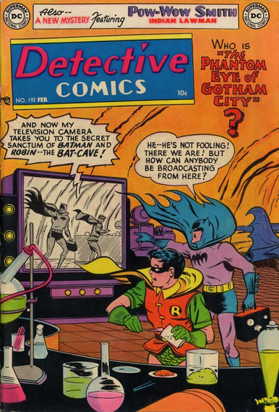 Cover for Detective Comics (DC, 1937 series) #192
