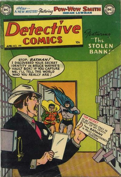 Cover for Detective Comics (DC, 1937 series) #194