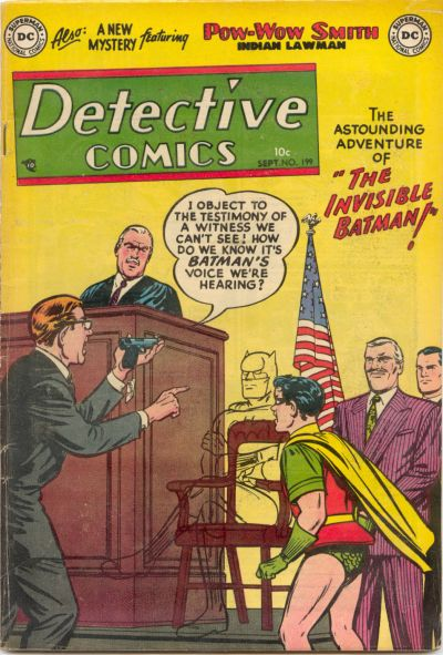Cover for Detective Comics (DC, 1937 series) #199