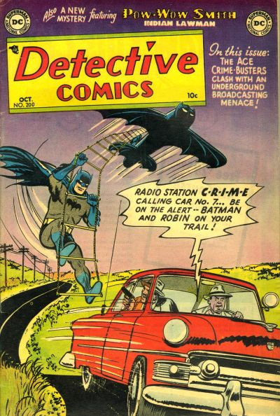 Cover for Detective Comics (DC, 1937 series) #200
