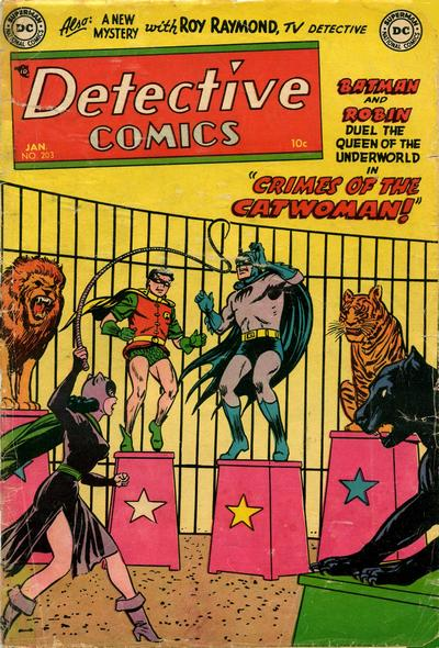 Cover for Detective Comics (DC, 1937 series) #203