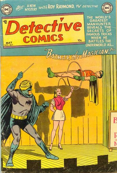 Cover for Detective Comics (DC, 1937 series) #207