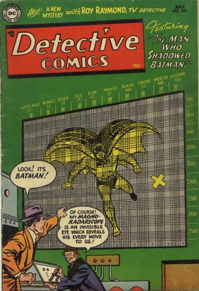 Cover for Detective Comics (DC, 1937 series) #209