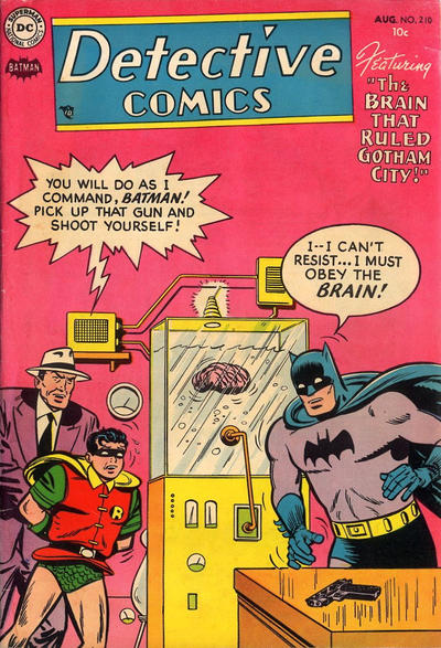 Cover for Detective Comics (DC, 1937 series) #210