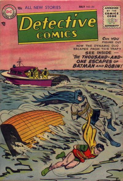 Cover for Detective Comics (DC, 1937 series) #221