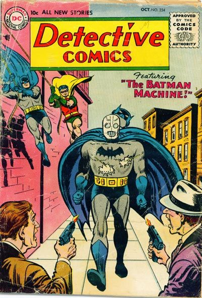 Cover for Detective Comics (DC, 1937 series) #224