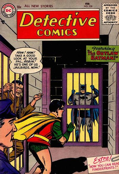 Cover for Detective Comics (DC, 1937 series) #228