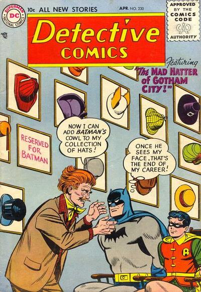 Cover for Detective Comics (DC, 1937 series) #230