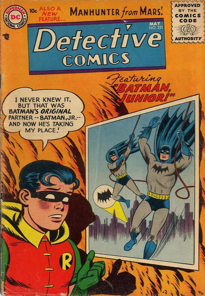 Cover for Detective Comics (DC, 1937 series) #231