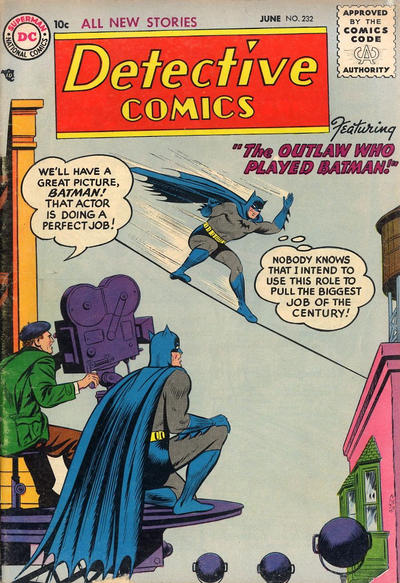 Cover for Detective Comics (DC, 1937 series) #232