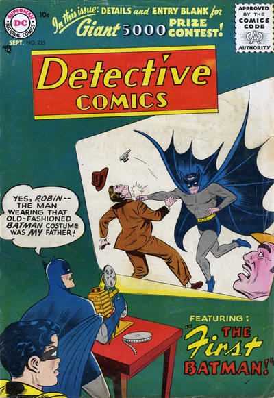 Cover for Detective Comics (DC, 1937 series) #235