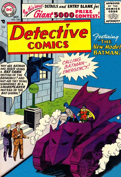 Cover for Detective Comics (DC, 1937 series) #236