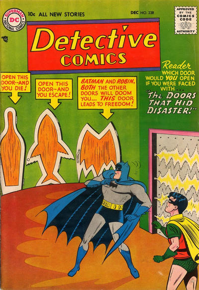 Cover for Detective Comics (DC, 1937 series) #238