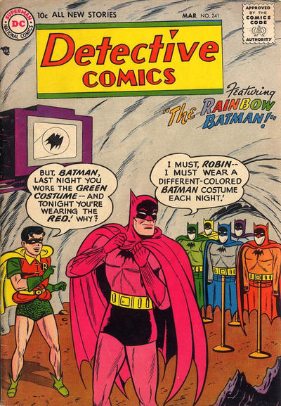 Cover for Detective Comics (DC, 1937 series) #241
