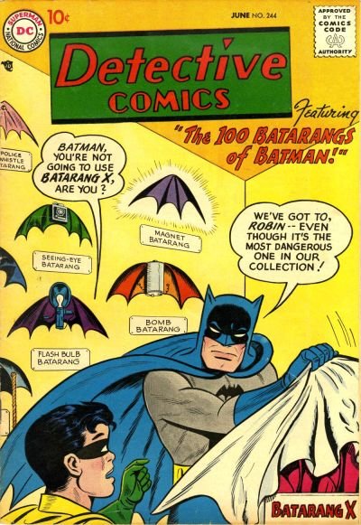 Cover for Detective Comics (DC, 1937 series) #244