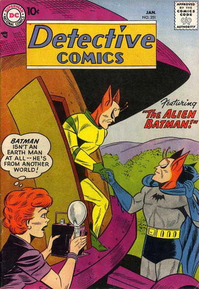 Cover for Detective Comics (DC, 1937 series) #251